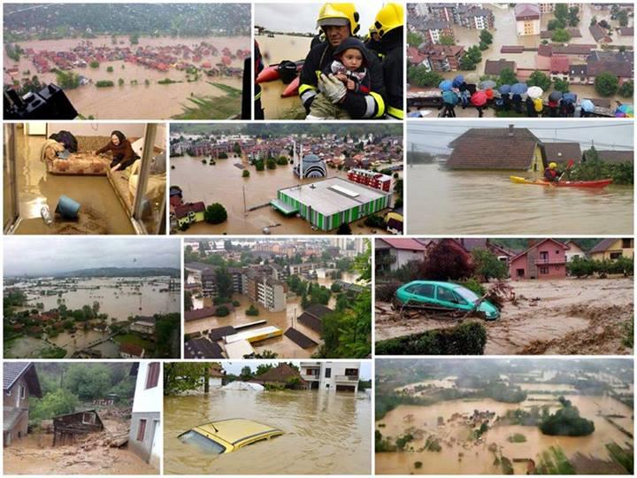 Помощи за наводнените семейства в Сърбия и Босна и Херцеговина